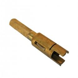 Broche de serrure de malle ARRIERE 75 mm