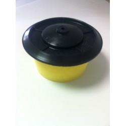 Filtre à Air + couvercle pour carbu. Simple corps (boitier métal)
