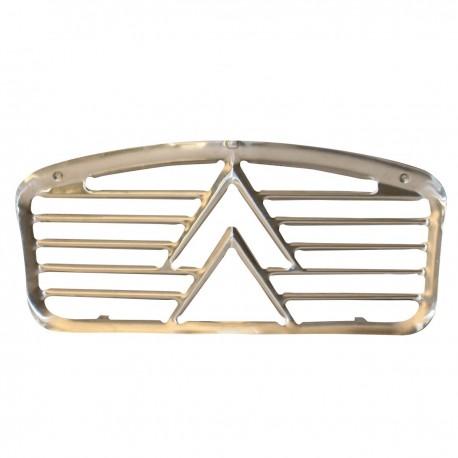 Calandre en aluminium pour capot 5 nervures  de 01/1961  à 1965
