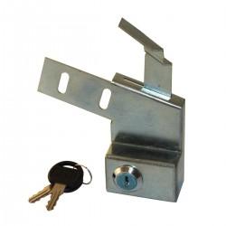 Verrouillage de capot 2CV à clé
