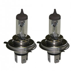 Lot de 2 Ampoules Code-phare H4 - 12V