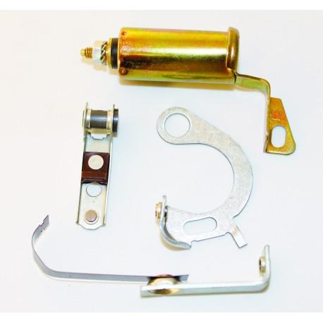 Vis platinées et condensateur 6 V MARQUE DUCELLIER