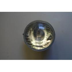 Optique rond pour 2CV, avec trou pour veilleuse  Montage H4